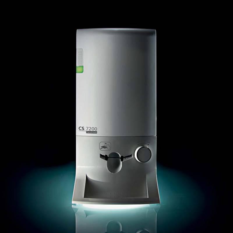 DenTec forhandler Carestreams CS 7200 fosforpladeskanner.