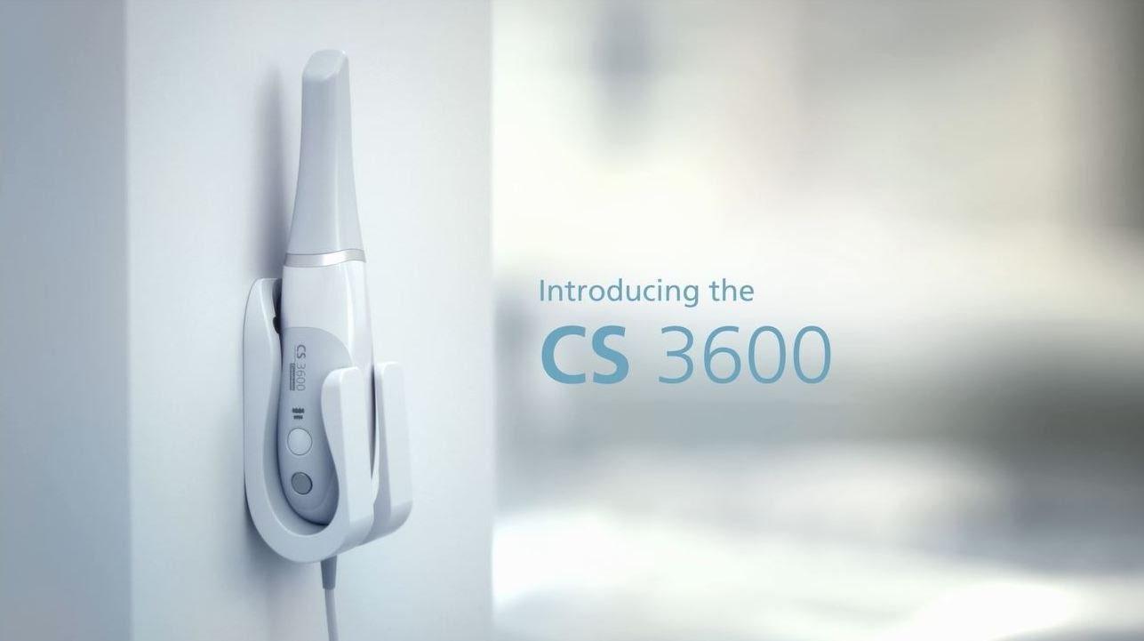 DenTec forhandler Carestreams prisvindende digitale aftryksskanner CS 3600. Kontakt os i dag og hør nærmere om mulighederne ved en digital aftryksskanner.