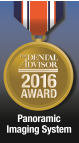 Carestreams 8100 panoramarøntgen serie har vunder mange priser, herunder Dental Advisors pris i 2016 for bedste panorama system