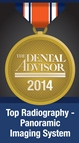 Carestreams 8100 panoramarøntgen serie har vunder mange priser, herunder Dental Advisors pris i 2014 for bedste radiografiske panorama system