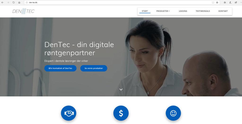Velkommen til Dentec.dk